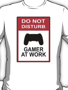 Gamer At Work - Playstation T-Shirt