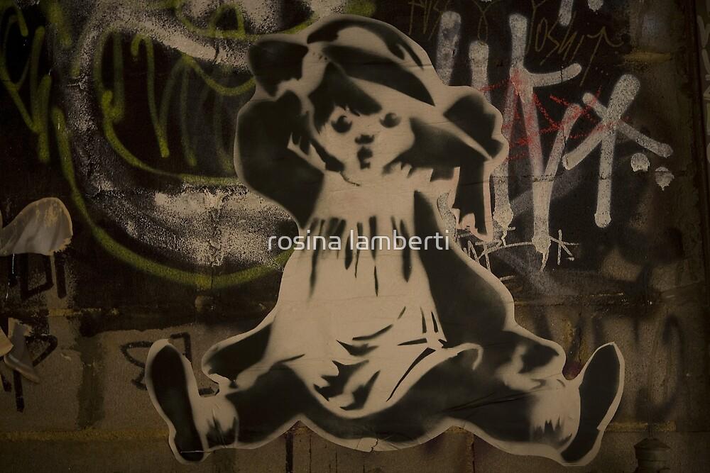 Fallen Girl - Artist SPARCS by Rosina  Lamberti