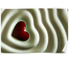 Heart Wave Poster