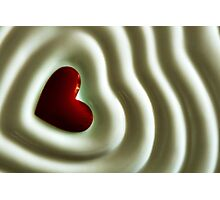 Heart Wave Photographic Print