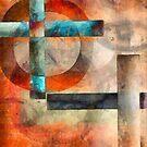 Crossroads Abstract by Edward Fielding