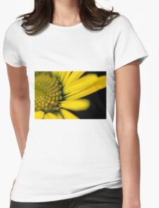 Melo Yellow Womens Fitted T-Shirt
