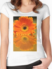 Double Orange Women's Fitted Scoop T-Shirt