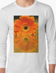 Double Orange Long Sleeve T-Shirt