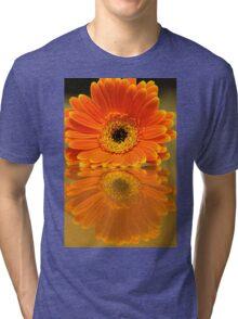Double Orange Tri-blend T-Shirt