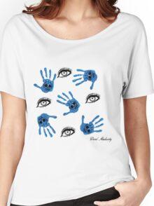 EYE FEEL BLUE Women's Relaxed Fit T-Shirt