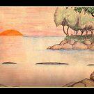 Riverine Fantasy 1978 by Sean Phelan