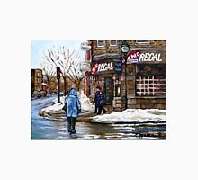 POINTE ST.CHARLES MONTREAL PAINTINGS LA CHIC REGAL CANADIAN ART AND MONTREAL PAINTINGS Unisex T-Shirt