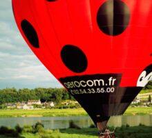 Red Balloon Sticker
