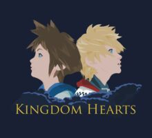 Sora & Roxas Back to Back by Michael Gerrard