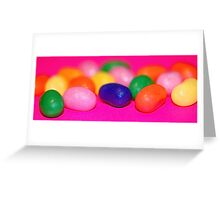 Jellybeans Greeting Card
