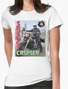 Skeggy Cruiser Womens Fitted T-Shirt