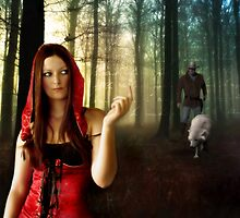 Lil Red Riding Hood by Karri Klawiter