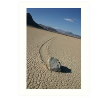 The Racetrack - Death Valley, California Art Print