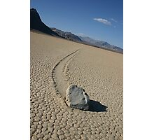 The Racetrack - Death Valley, California Photographic Print