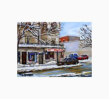 BEST MONTREAL PAINTINGS MONTREAL ART POINTE ST. CHARLES Unisex T-Shirt