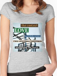 The Coolest Love Women's Fitted Scoop T-Shirt
