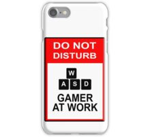 Gamer At Work - PC iPhone Case/Skin