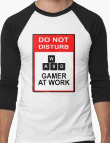 Gamer At Work - PC Men's Baseball ¾ T-Shirt