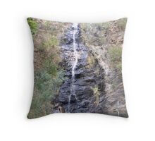 Cleland Waterfall Gully Throw Pillow