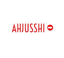 AHJUSSHI   by Kpop Seoul Shop