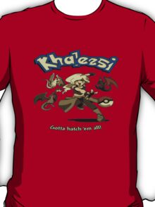 Khalessi - Gotta catch em' all - Game of Thrones Pokemon crossover T-Shirt