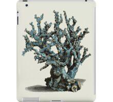 Antique Sea Coral Illustration iPad Case/Skin