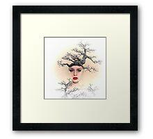 Earth Queen Framed Print