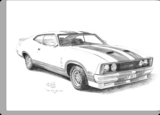u0026quot 1978 ford gt falcon xc cobra u0026quot  canvas prints by joseph colella