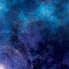 Blue and Purple Galaxy by Pyranda
