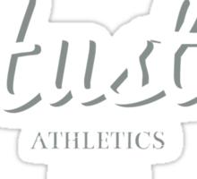 Hustle Athletics Black Label Sticker