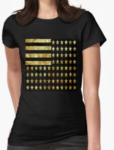 Gold State Womens Fitted T-Shirt