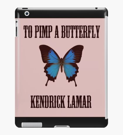 To Pimp a Butterfly - Kendrick Lamar iPad Case/Skin