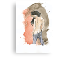 Anonymous nude I Canvas Print