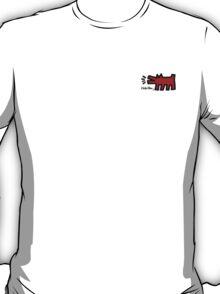 Keith Haring - Barking Dog T-Shirt