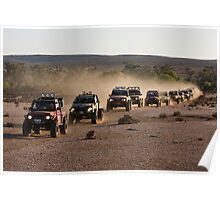 Outback Challenge Convoy Poster