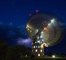 radio telescope by Overlander4WD