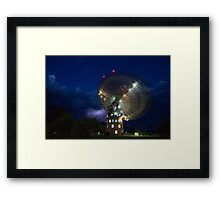 radio telescope Framed Print
