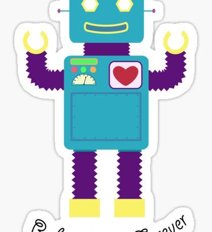 Robot Love Sticker