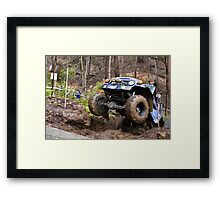 4WD competition Framed Print