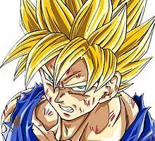 Goku by artemys