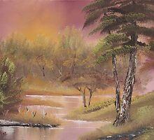 Magenta Marsh by Diana Matlock