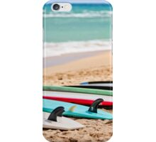 Ocean & Surf Fins at Baldwin Beach iPhone Case/Skin