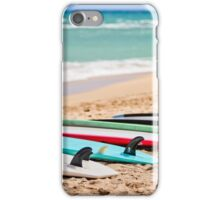 Ocean & Surf Fins at Baldwin Beach iPhone Case/Skin