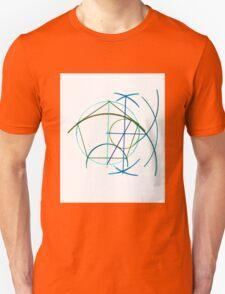 Euclidean Geometry - the Pentagon Unisex T-Shirt