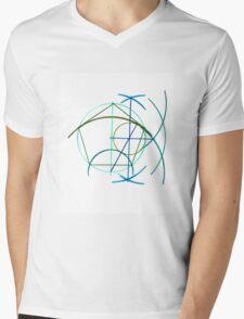 Euclidean Geometry - the Pentagon Mens V-Neck T-Shirt