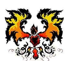Flame Pheonix by violentnerve