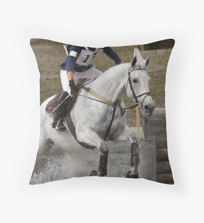 Out of the Water Throw Pillow
