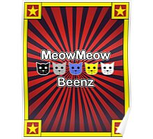 MeowMeow Beenz Poster