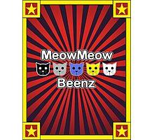 MeowMeow Beenz Photographic Print